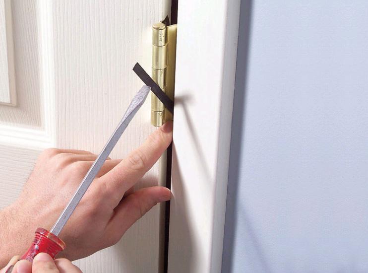 Как сделать чтобы дверь закрывалась плотнее 711